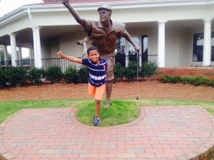 More visitors will have fun at the Payne Stewart statue when the U.S. Amateur returns to Pinehurst in 2019.
