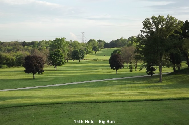 Big Run, Lockport - 15th hole