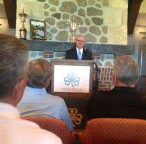 General chairman Jim Reinhart gives his annual update on Erin Hills' preparations to host the 2017 U.S. Open.