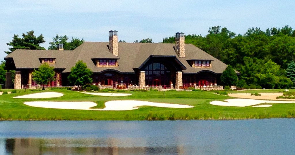 The Forest Dunes clubhouse will be a busier place once the club's two courses are in operation.