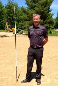 General manager Todd Campbell likes what he's seeing at Forest Dune's new course.