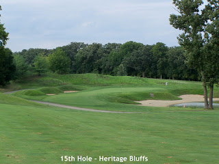 Heritage Bluffs, Channahon - 15th hole