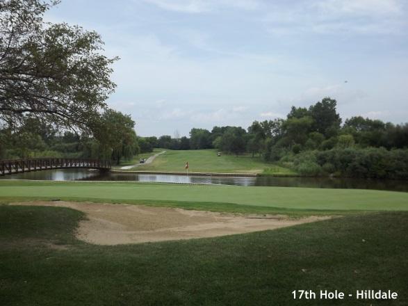 Hilldale, Hoffman Estates - 17th hole