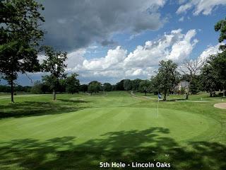 Lincoln Oaks, Crete - 5th hole