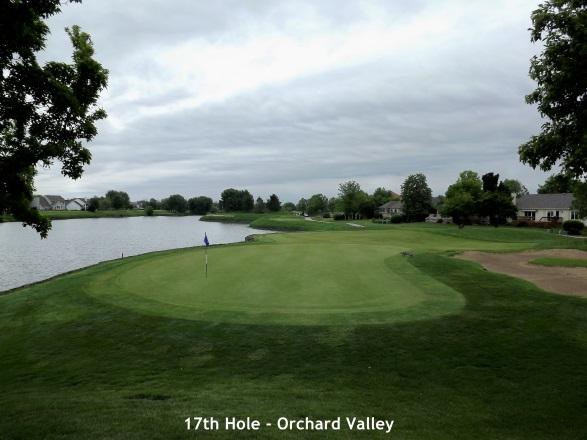 Orchard Valley, Aurora - 17th hole
