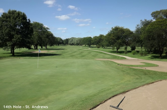 St. Andrews, West Chicago - 14th hole