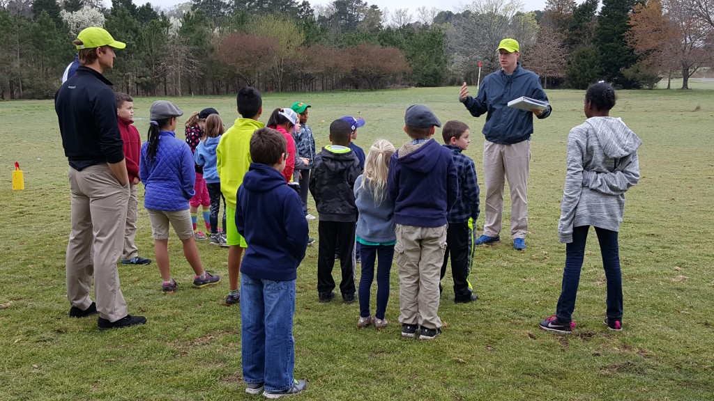 A talk about showing respect was a key component to the first session at First Tee of the Triangle.