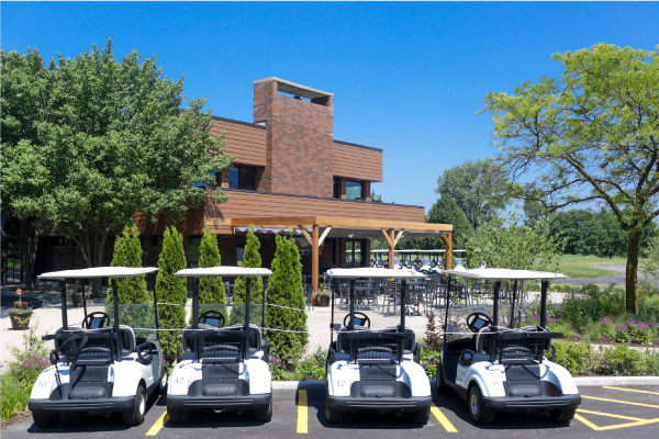 Arlington Lakes Golf Club carts
