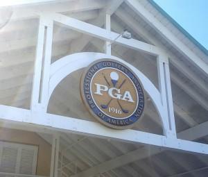 PGA sign