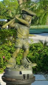 The Faz statue